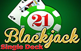 Играть в новый автомат Single Deck Blackjack Professional Series
